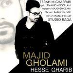 کاور آهنگ Majid Gholami - Hesse Gharib