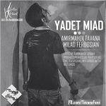 کاور آهنگ Amir Mahdi Tavana - Yadet Miad (Ft. Milad Ferdosian)