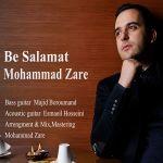 کاور آهنگ Mohammad Zare - Be Salamat