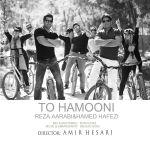 کاور آهنگ Hamed Hafezi - To Hamoni (Ft. Reza Aarabi)