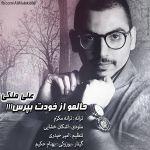 کاور آهنگ Ali Maleki - Halamo Az Khodet Bepors
