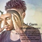 کاور آهنگ Mohammad Karami - Del Giram