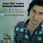 کاور آهنگ Behnam Gholami - Angosht Nama