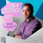 کاور آهنگ Amir Yeganeh - Adat