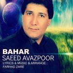 کاور آهنگ Saeed Avazpoor - Bahar