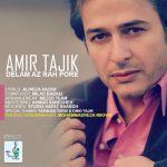 کاور آهنگ Amir Tajik - Delam Az Rah Pore