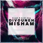 کاور آهنگ Arash K - Divoone Misham (Ft. Ali Ava)