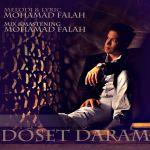 کاور آهنگ Mohammad Fallah - Doset Daram