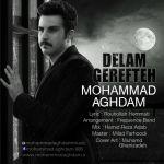 کاور آهنگ Mohammad Aghdam - Delam Gerefteh