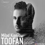 کاور آهنگ Milad Kian - Toofan