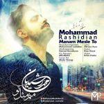 کاور آهنگ Mohammad Rashidian - Manam Mesle To