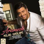 کاور آهنگ Milad Gholami - Aramesh