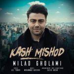 کاور آهنگ Milad Gholami - Kash Mishod