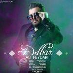 کاور آهنگ Ali Heydari - Delbar