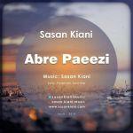 کاور آهنگ Sasan Kiani - Abre Paeezi
