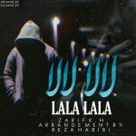 کاور آهنگ Zarif K.H - LALA LALA
