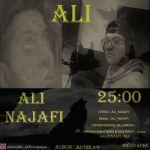 کاور آهنگ Ali Najafi - Ali