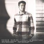 کاور آهنگ Ehsan Karimi - Donia To Moshtame