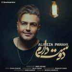 کاور آهنگ Alireza Panahi - Doset daram