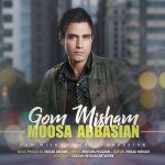 کاور آهنگ Moosa Abbasian - Gom Misham