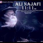 کاور آهنگ Ali Najafi - 11:11PM