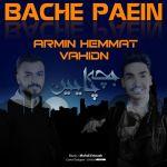 کاور آهنگ VahidN & Armin Hemmat - Bache pain