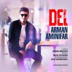 کاور آهنگ Arman Aminifar - Del