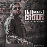 کاور آهنگ Roozbeh Bemani - Koja Bayad Beram (Dj Crown Remix)