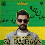 کاور آهنگ Soheil Mokhtari - Zarabaan