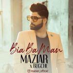 کاور آهنگ Maziar Karimzadeh - Bia Ba Man (Ft Bugche)