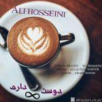 کاور آهنگ Ali Hosseini - Dooset Daram