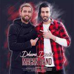 کاور آهنگ Macan Band - Delamo Dozdid
