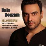 کاور آهنگ Hesam Heidari - Halo Rouzam