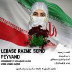 کاور آهنگ Peyvand - Lebase Razme Sepid