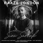 کاور آهنگ Sina Sarlak - Raze Jonoon