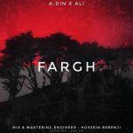 کاور آهنگ A.din Ft Ali - Fargh