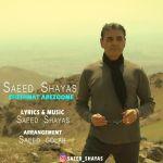 کاور آهنگ Saeed Shayas - Cheshmat Arezoome
