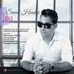 کاور آهنگ Saeed Hoseini - Jana